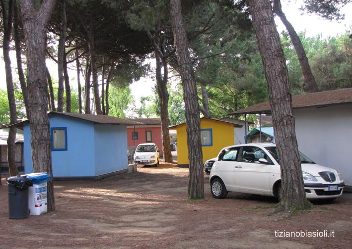 Foto del campeggio sole a caorle scattate da tiziano biasioli for Centro di lewis della cabina della pizza